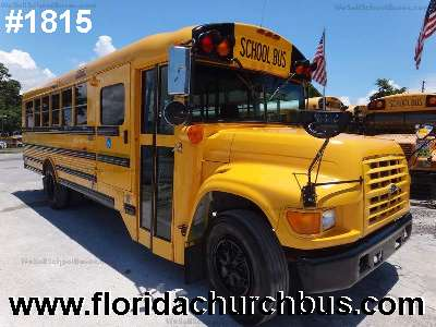 Ford         Thomas air conditioning special needs bus