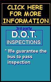 3rd party (guaranteed to             pass) DOT inspections