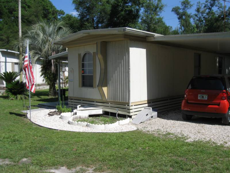 This Is One Of The Nicest Mobile Homes In Any Home Park And BY FAR Lot You Will Ever Find A Rent 270